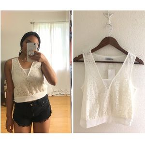 TOBI | Lace Cropped Tank Top NEW!💖